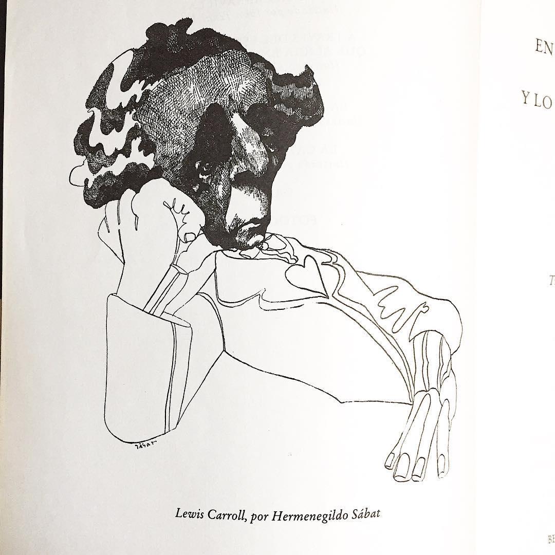 Ilustrsimos los dos ilustrador e ilustrado Lewis por Hermenegildo