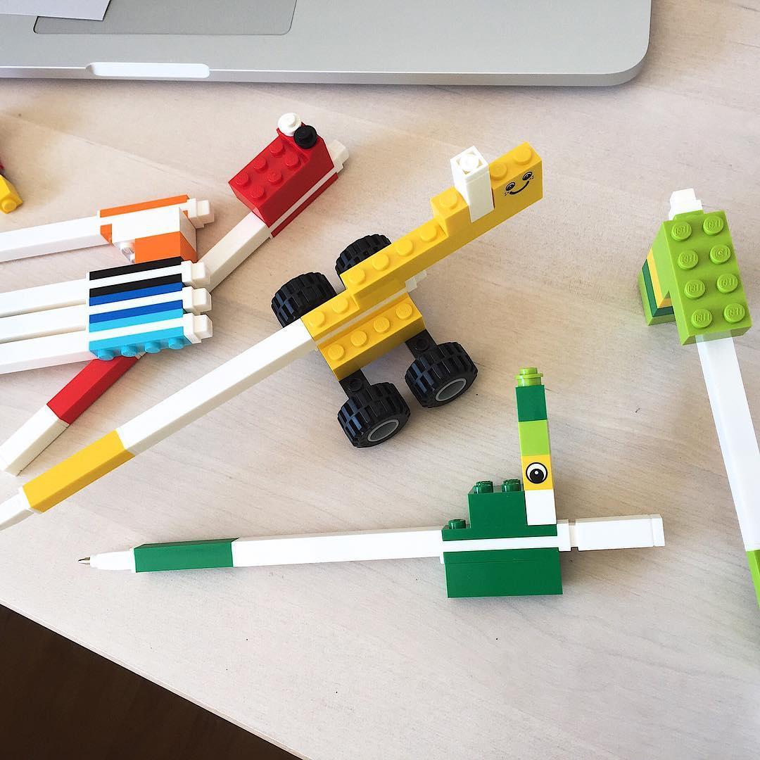 Alucinando con las LEGO pens que me regal mi Clodyn!!!