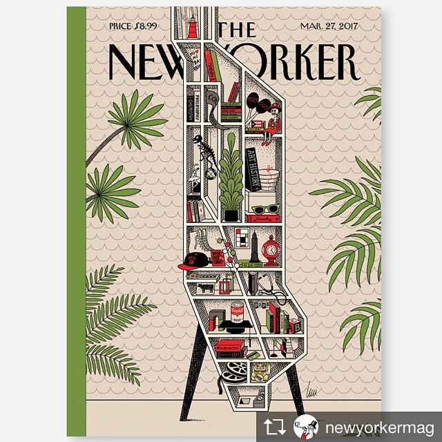 Repost from newyorkermag TopRankRepost TopRankRepost This weeks cover Shelf Lifehellip