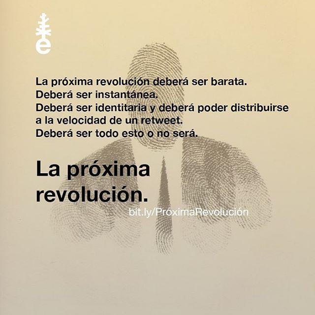 La prxima revolucin ser bitlyPrximaRevolucin